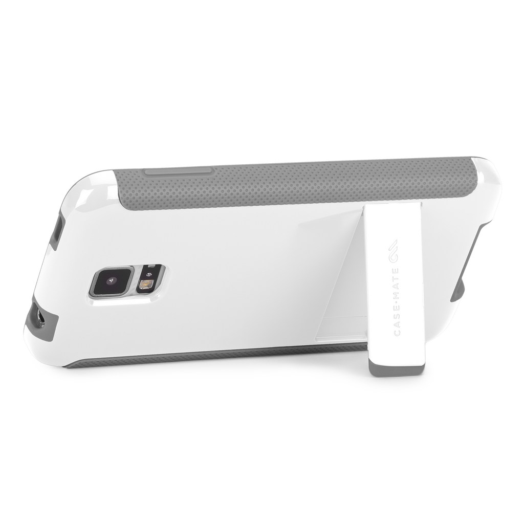 Samsung GALAXY S5 White & Grey Pop! Case - image angle 8