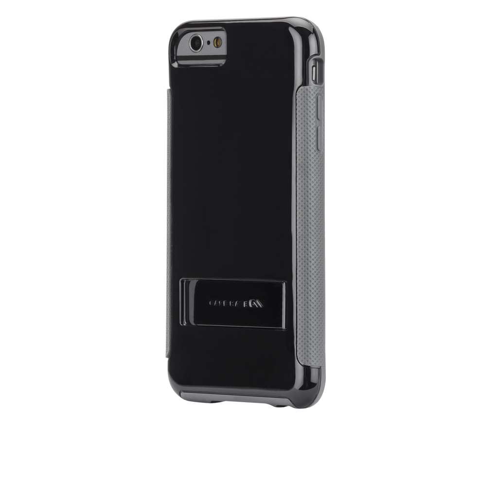 iPhone 6 Plus Black & Grey Pop! Case - image angle 3