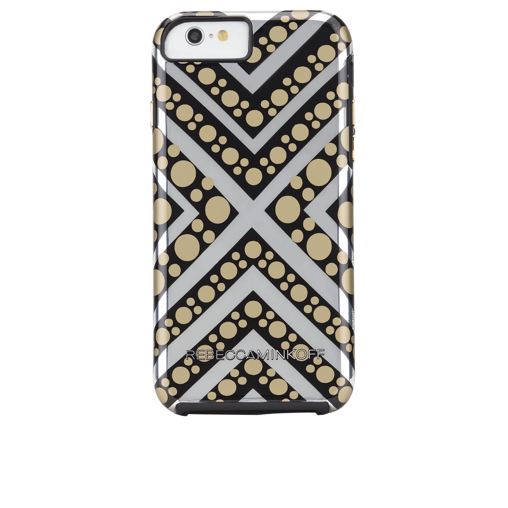 iPhone 6s Tough Metallic Chevron Dot Print - image angle 7