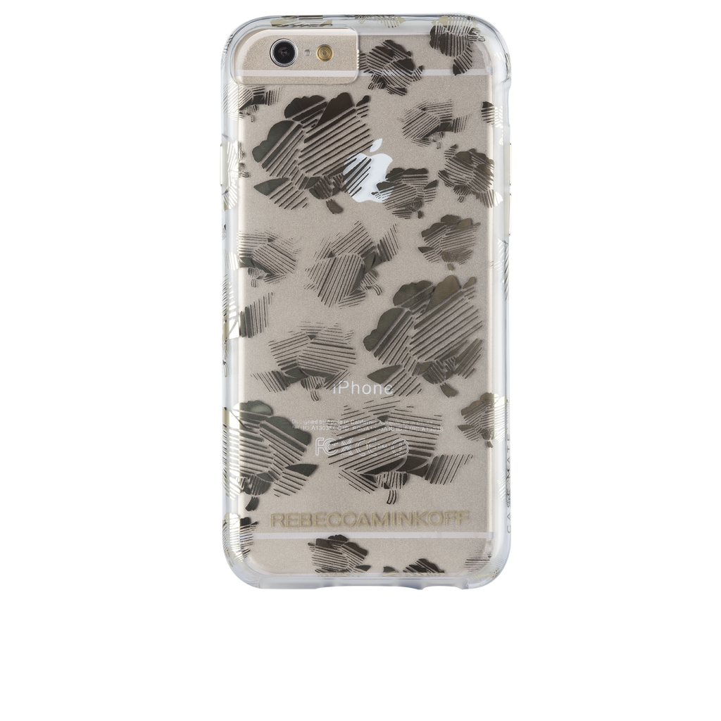 iPhone 6s Naked Tough Metallic Striped Floral - image angle 7