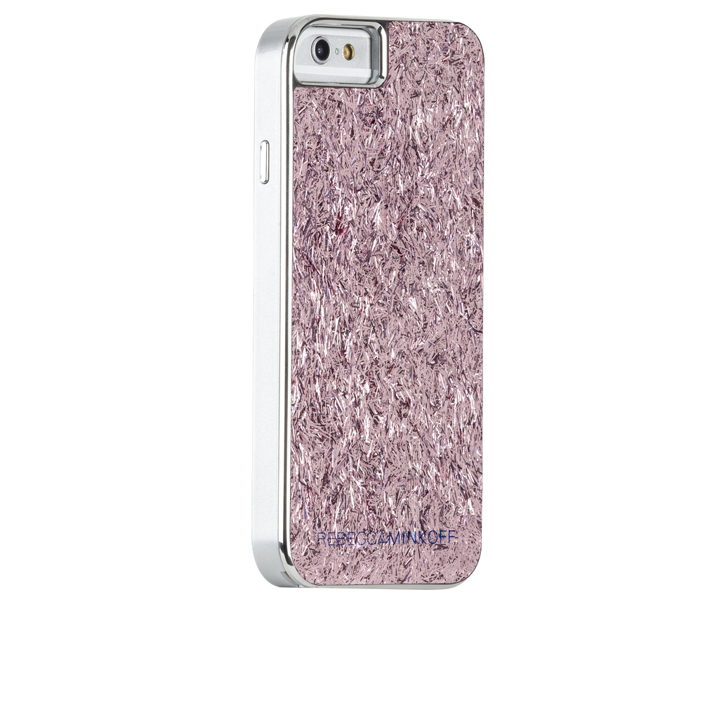 iPhone 6s Pink Glam Glitter Pink Confetti - image angle 1