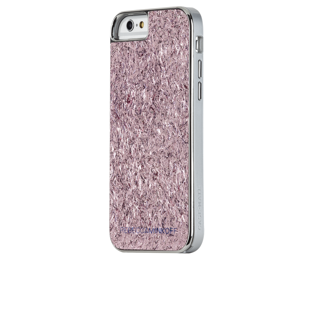 iPhone 6s Pink Glam Glitter Pink Confetti - image angle 3