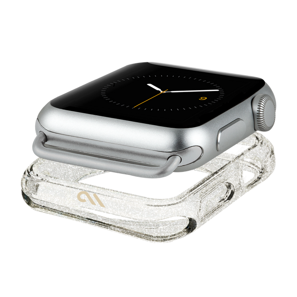 Apple Watch 38mm Sheer Glam Naked Tough Bumper - image angle 1