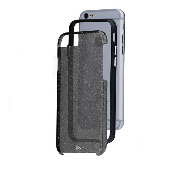 iPhone 6 Plus / 6s Plus Naked Tough Sheer Glam Noir Case - image angle 8