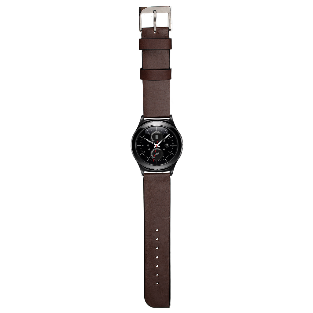 Samsung Gear S2 Classic Tobacco Signature Leather Band - image angle 1