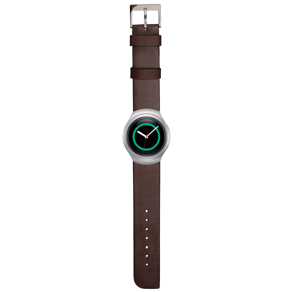 Samsung Gear S2 Tobacco Signature Leather Band - image angle 1
