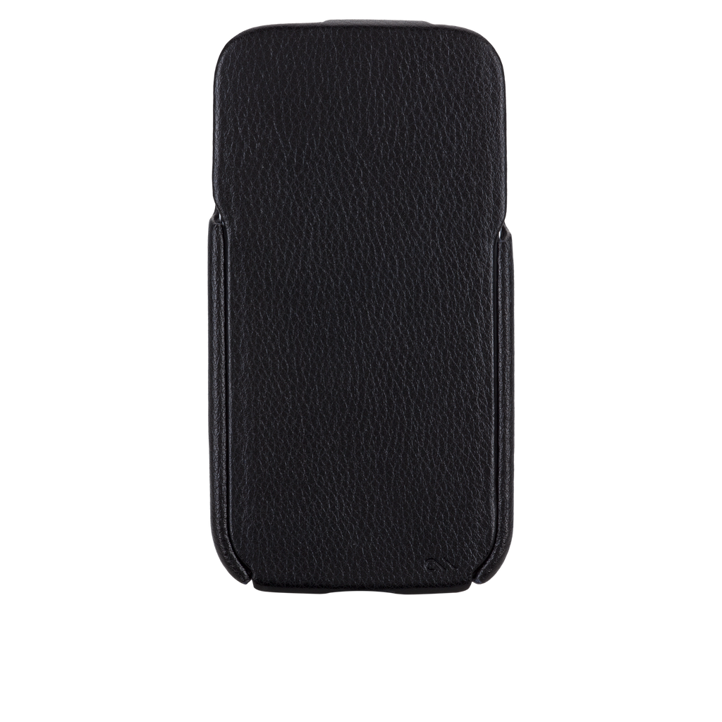 Samsung GALAXY S4 Black Signature Leather Flip Case - image angle 6