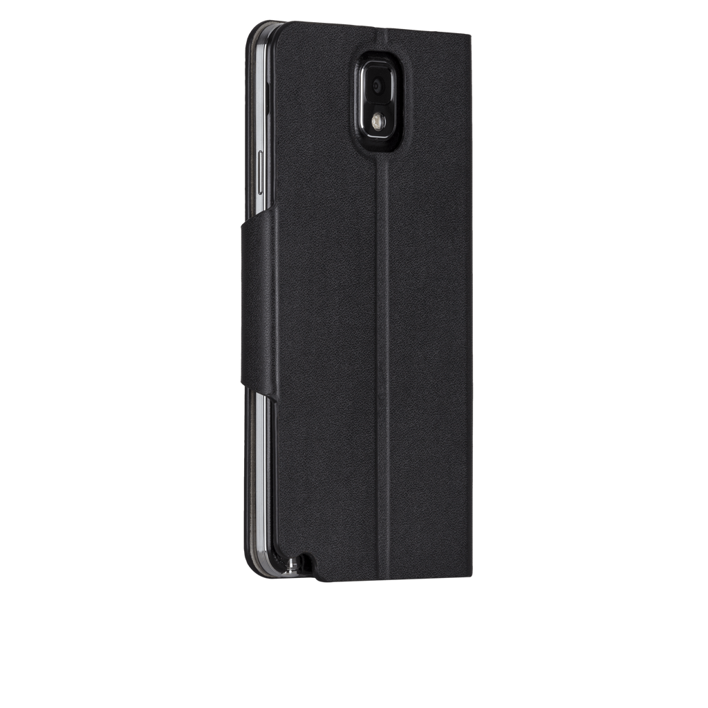 Samsung GALAXY Note 3 Black Slim Folio Case - image angle 1