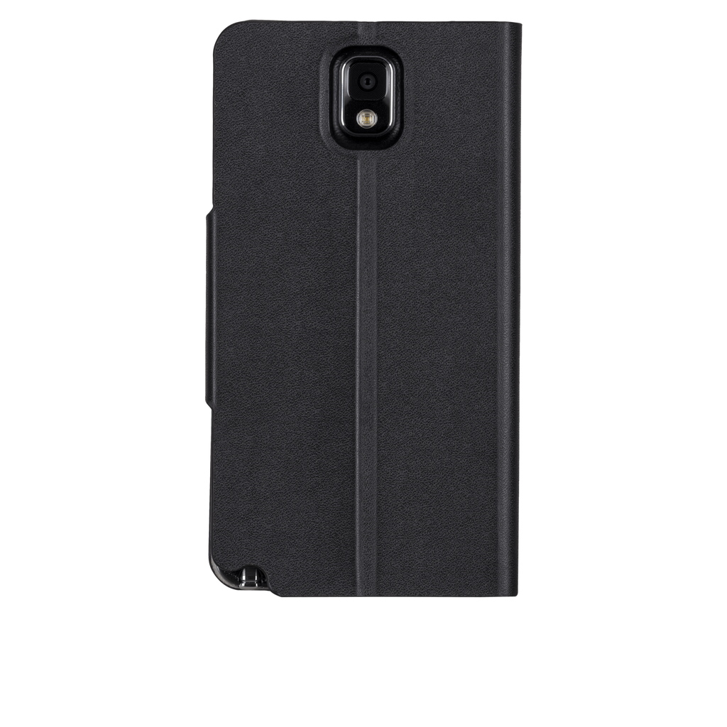 Samsung GALAXY Note 3 Black Slim Folio Case - image angle 7