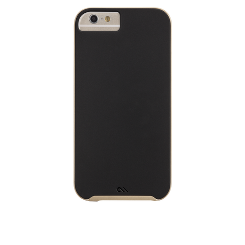 iPhone 6 Plus / 6s Plus Slim Tough Case - Black & Gold