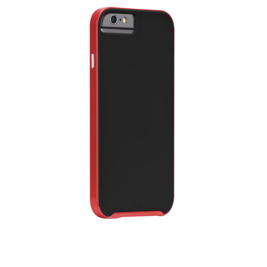iPhone 6 Black & Red Slim Tough Case - image angle 1