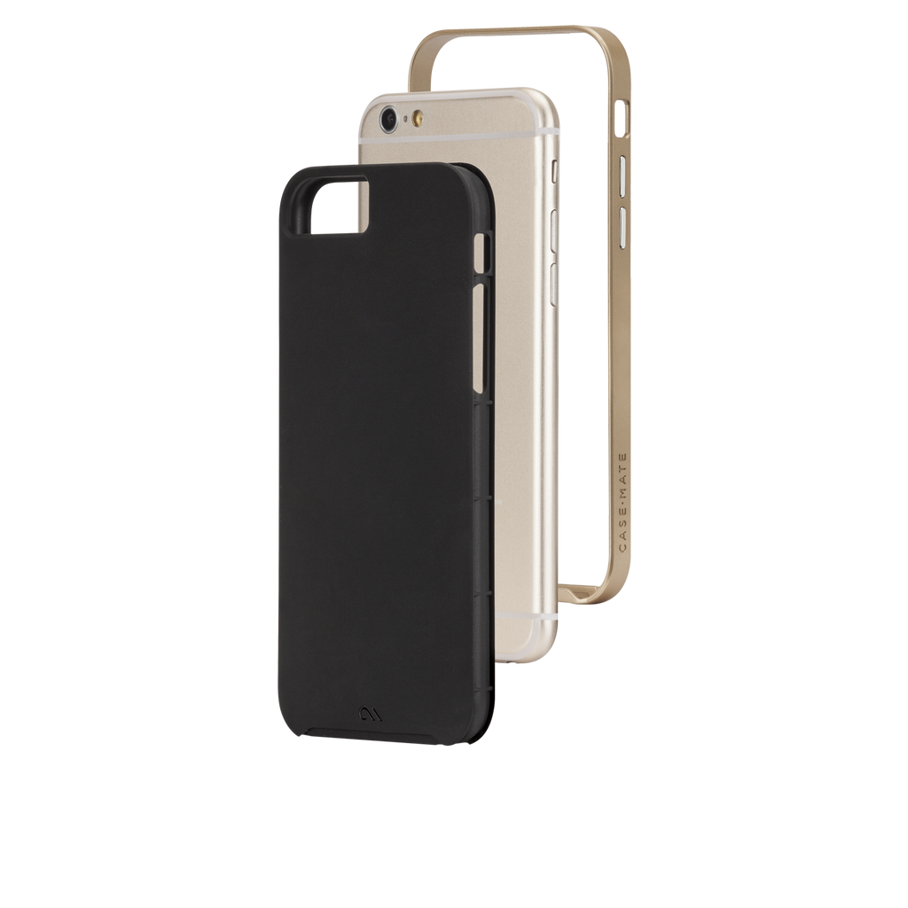 iPhone 6s Black & Gold Slim Tough Case - image angle 8