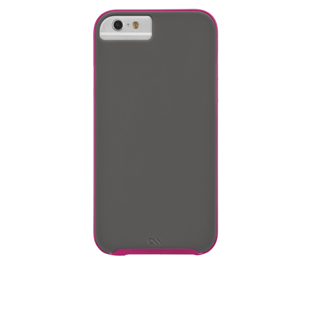 iPhone 6 Titanium & Pink Slim Tough Case - image angle 7