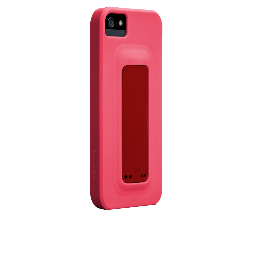 iPhone 5/5s Lipstick Pink & Flame Red Snap Case - image angle 1.PNG