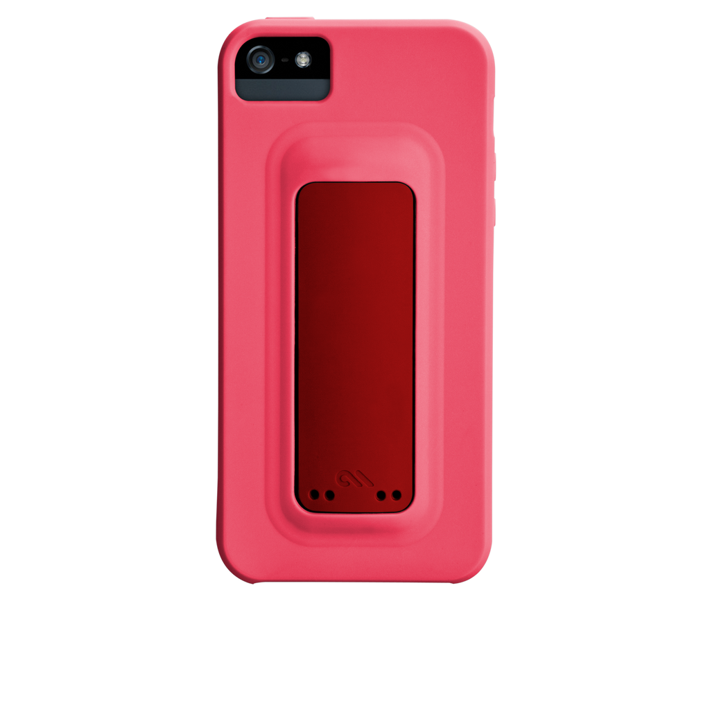iPhone 5/5s Lipstick Pink & Flame Red Snap Case - image angle 7.PNG