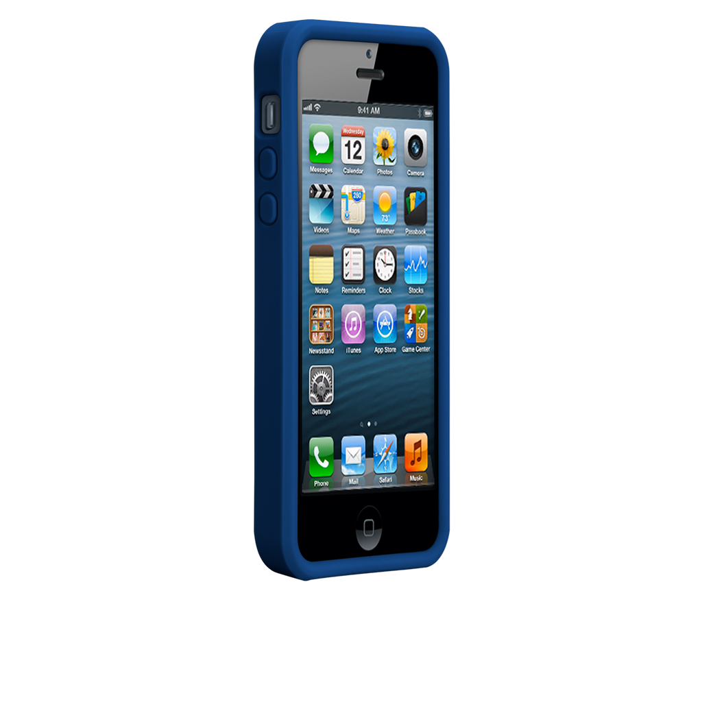 iPhone 5/5s Marine Blue & Emerald Green Snap Case - image angle 2.PNG