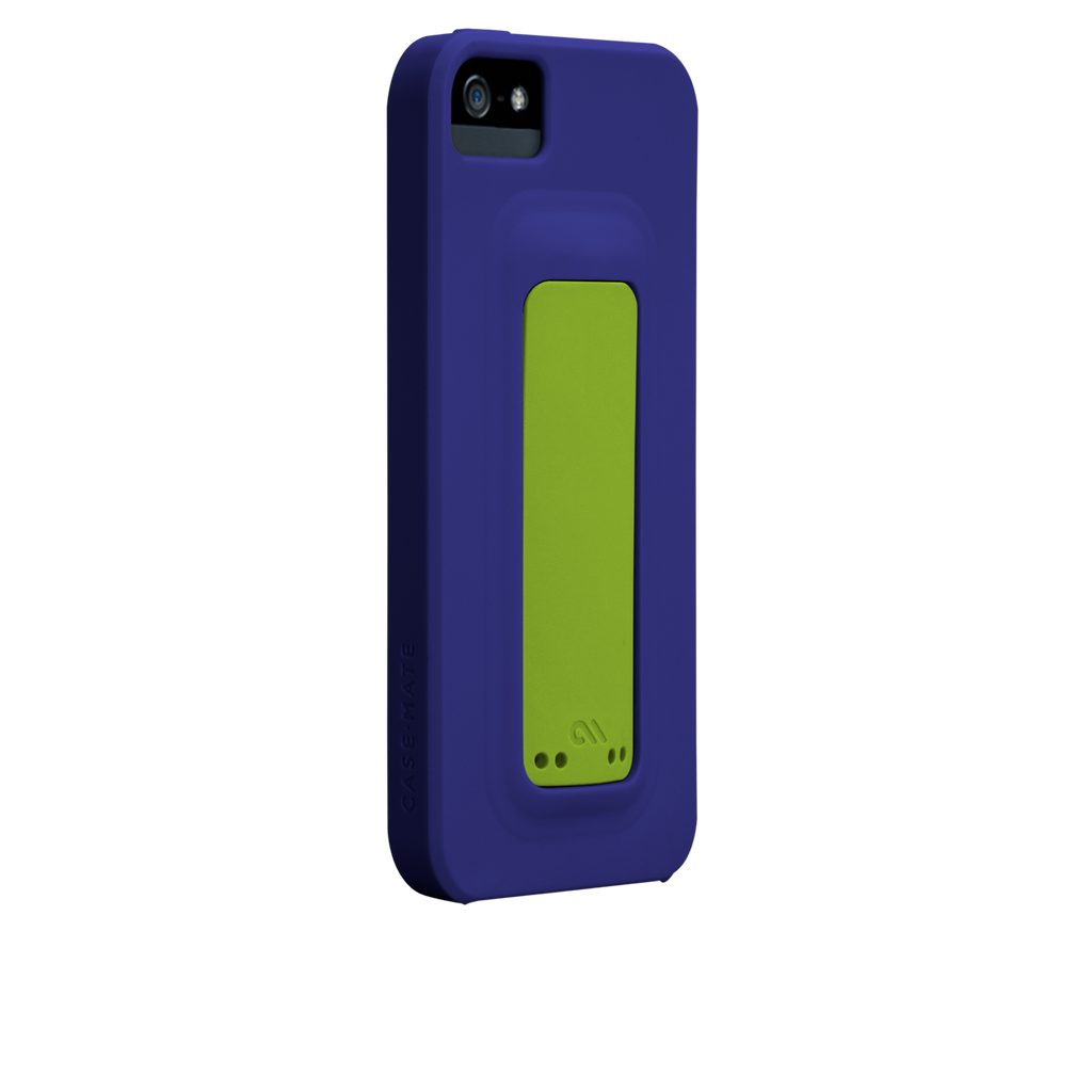 iPhone 5/5s Violet Purple & Chartreuse Green Snap Case - image angle 1.PNG