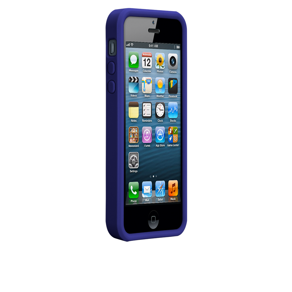 iPhone 5/5s Violet Purple & Chartreuse Green Snap Case - image angle 2.PNG