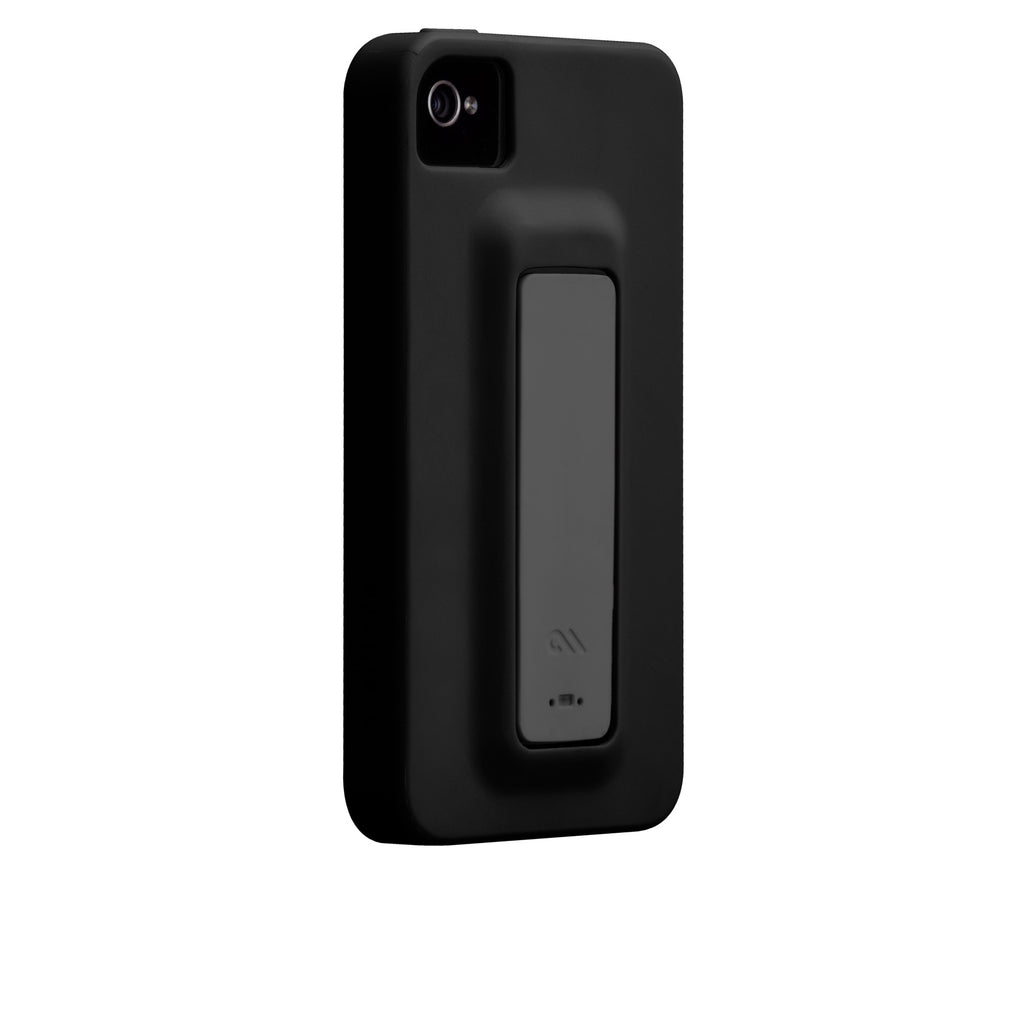 iPhone 4/4s Black & Cool Grey Snap Case - image angle 1