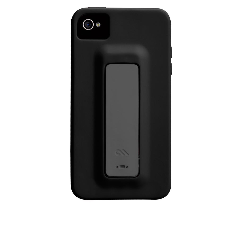 iPhone 4/4s Black & Cool Grey Snap Case - image angle 7