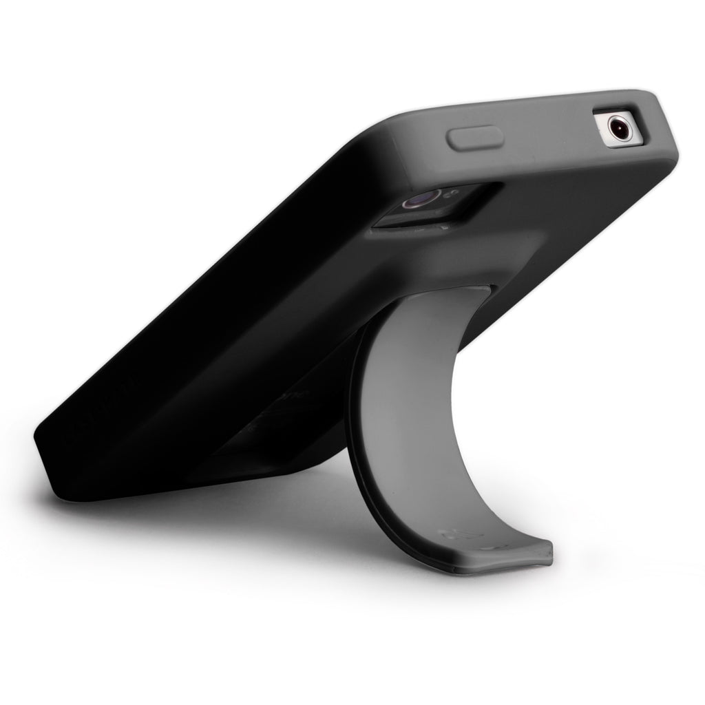 iPhone 4/4s Black & Cool Grey Snap Case - image angle 8
