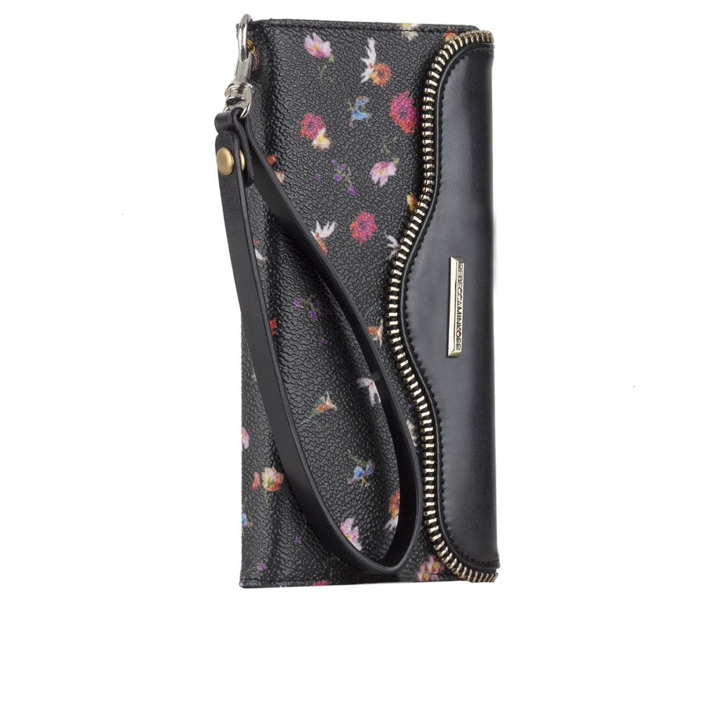 iPhone 6 Botanical Floral Leather Folio Wristlet - image angle 2