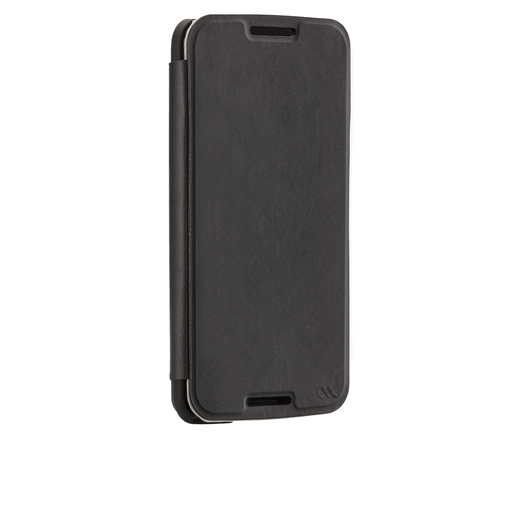 Nexus 6 Black Stand Folio Case - image angle 2