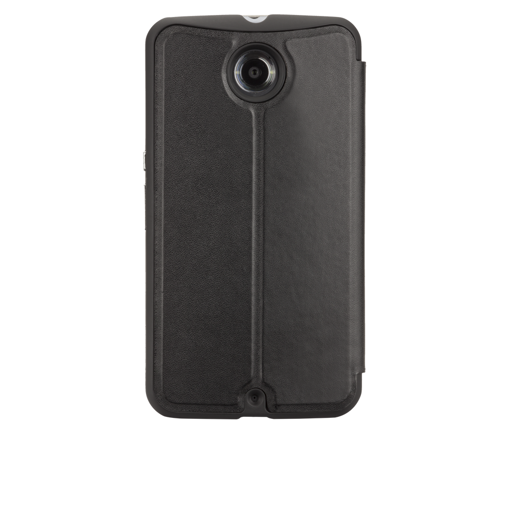 Nexus 6 Black Stand Folio Case - image angle 7