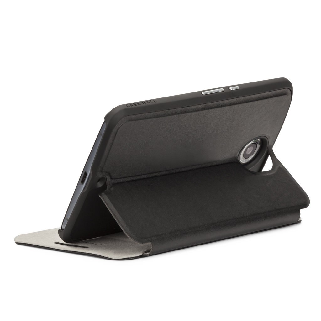 Nexus 6 Black Stand Folio Case - image angle 9