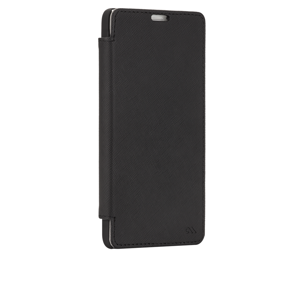 Samsung GALAXY Note 4 Black Stand Folio Case - image angle 2