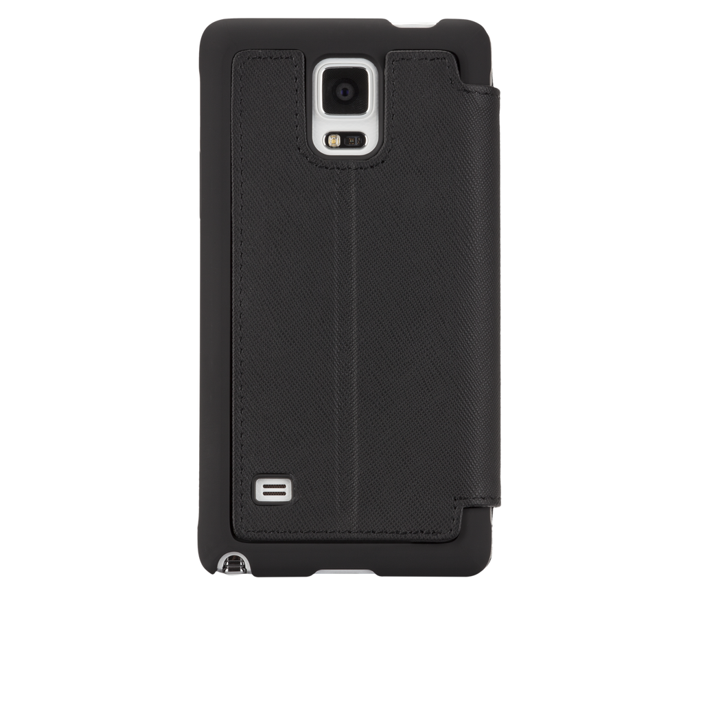 Samsung GALAXY Note 4 Black Stand Folio Case - image angle 7
