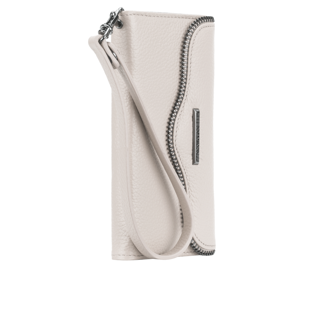iPhone 6s Sand Leather Folio Wristlet - image angle 2