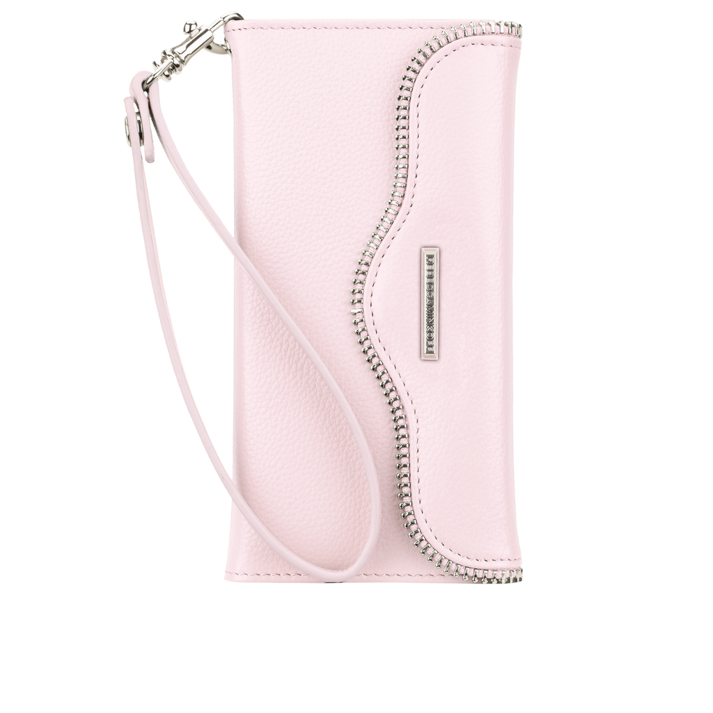 iPhone 6/6s Pale Pink Rebecca Minkoff Leather Wristlet - Pale Pink - image angle 6