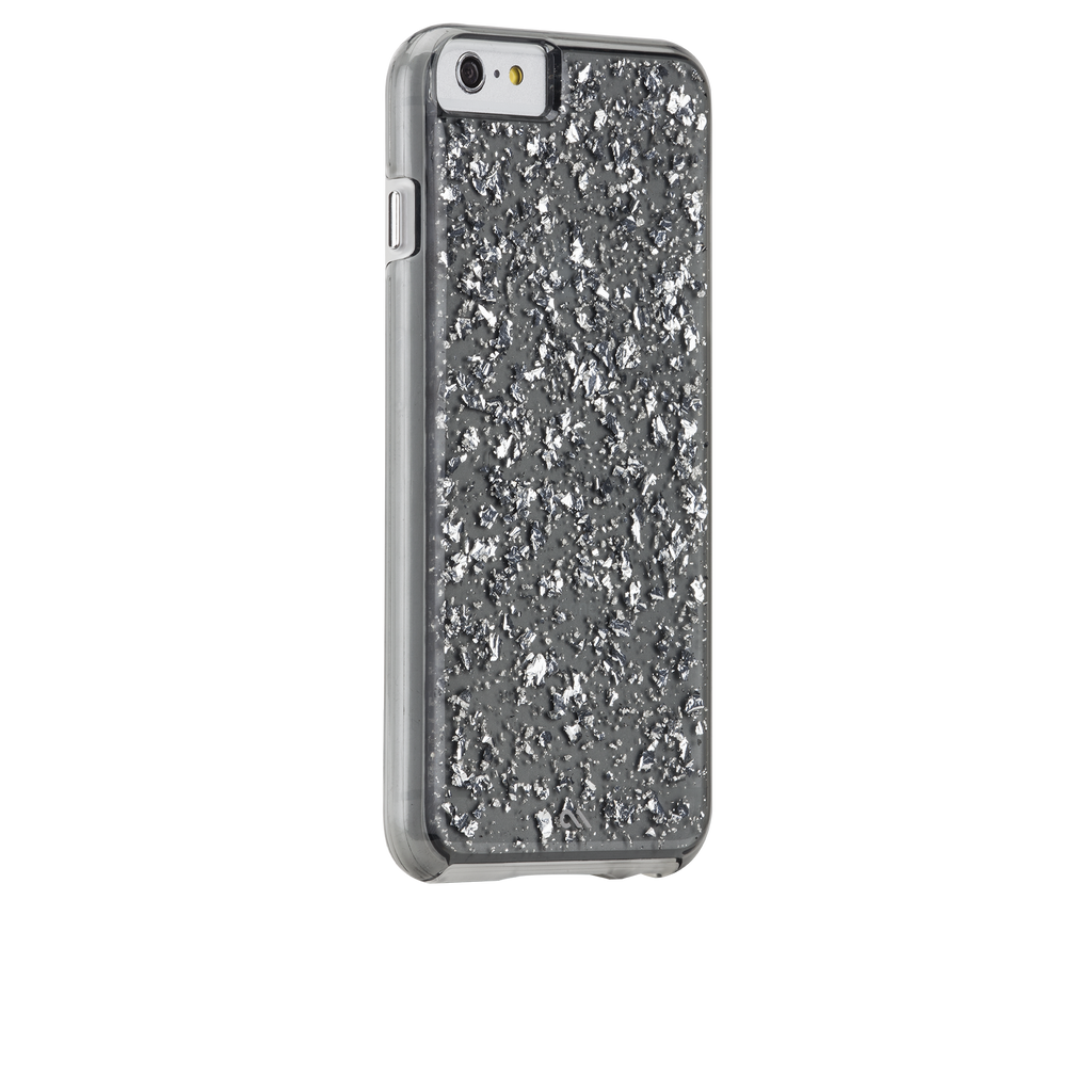 iPhone 6s Silver & Smoke Sterling Case - image angle 1