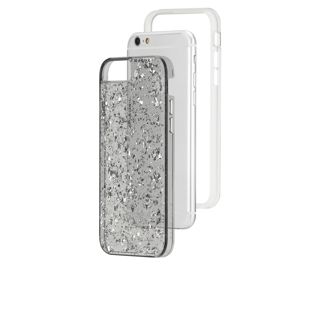 iPhone 6s Silver & Smoke Sterling Case - image angle 8