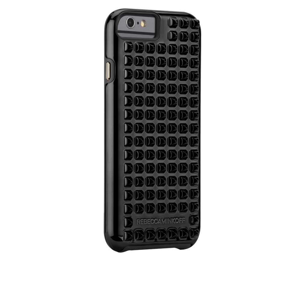 iPhone 6 Black Studded Tough Case - image angle 1