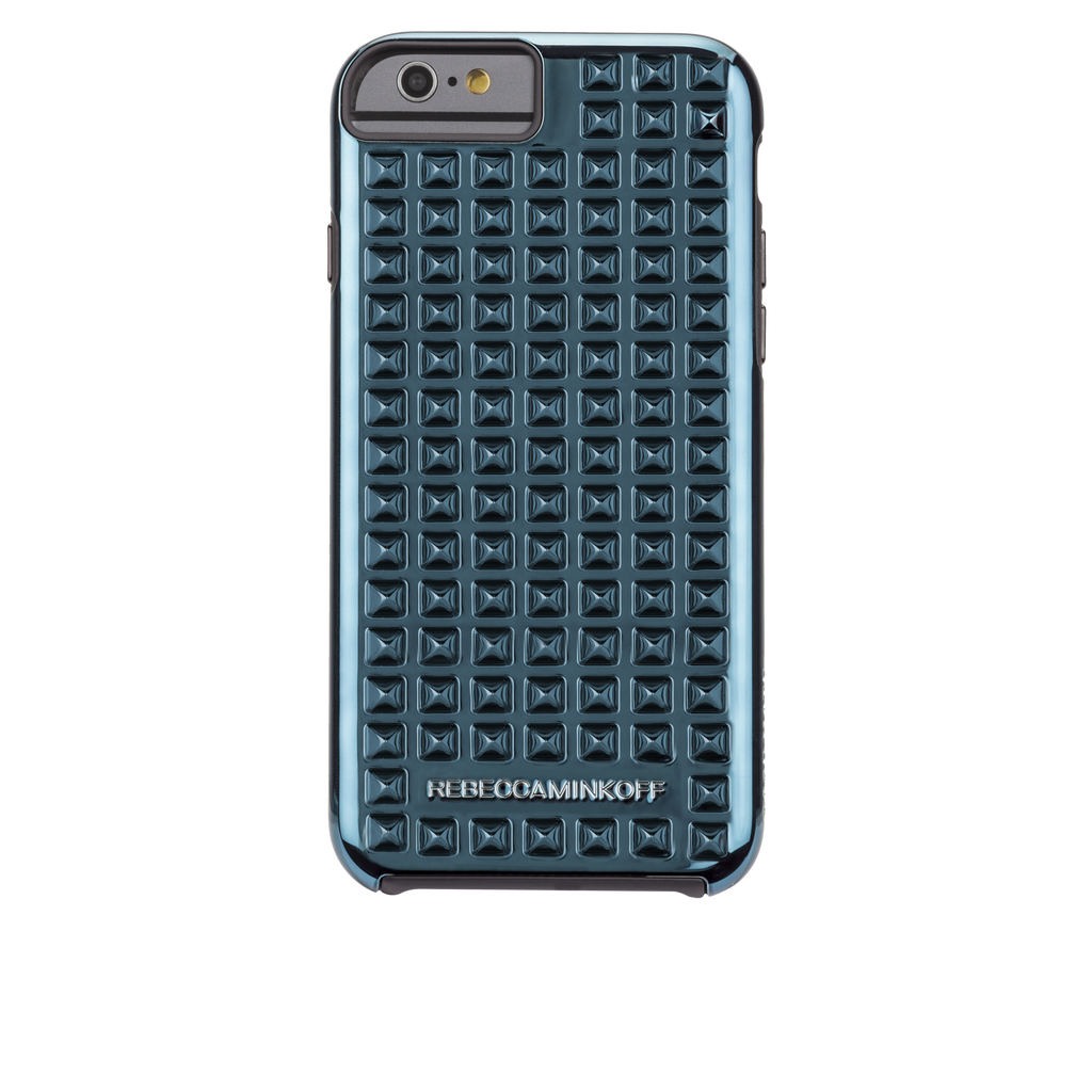 iPhone 6 Teal Studded Tough Case - image angle 7