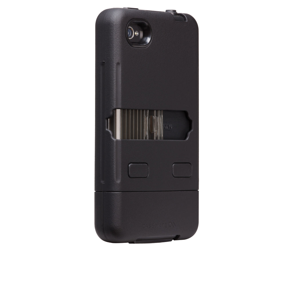 iPhone 4/4s Black & Black Tank Case - image angle 1