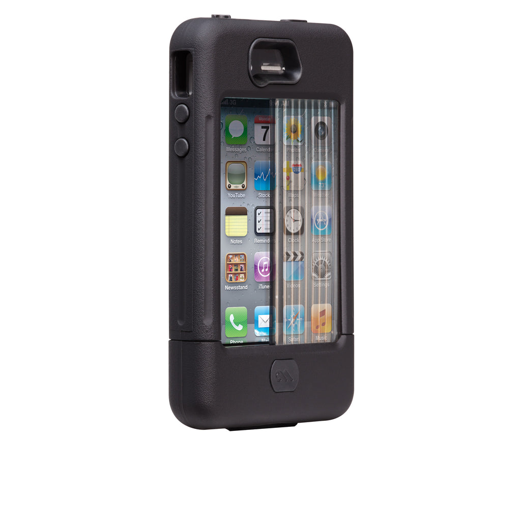 iPhone 4/4s Black Tank Case - image angle 2
