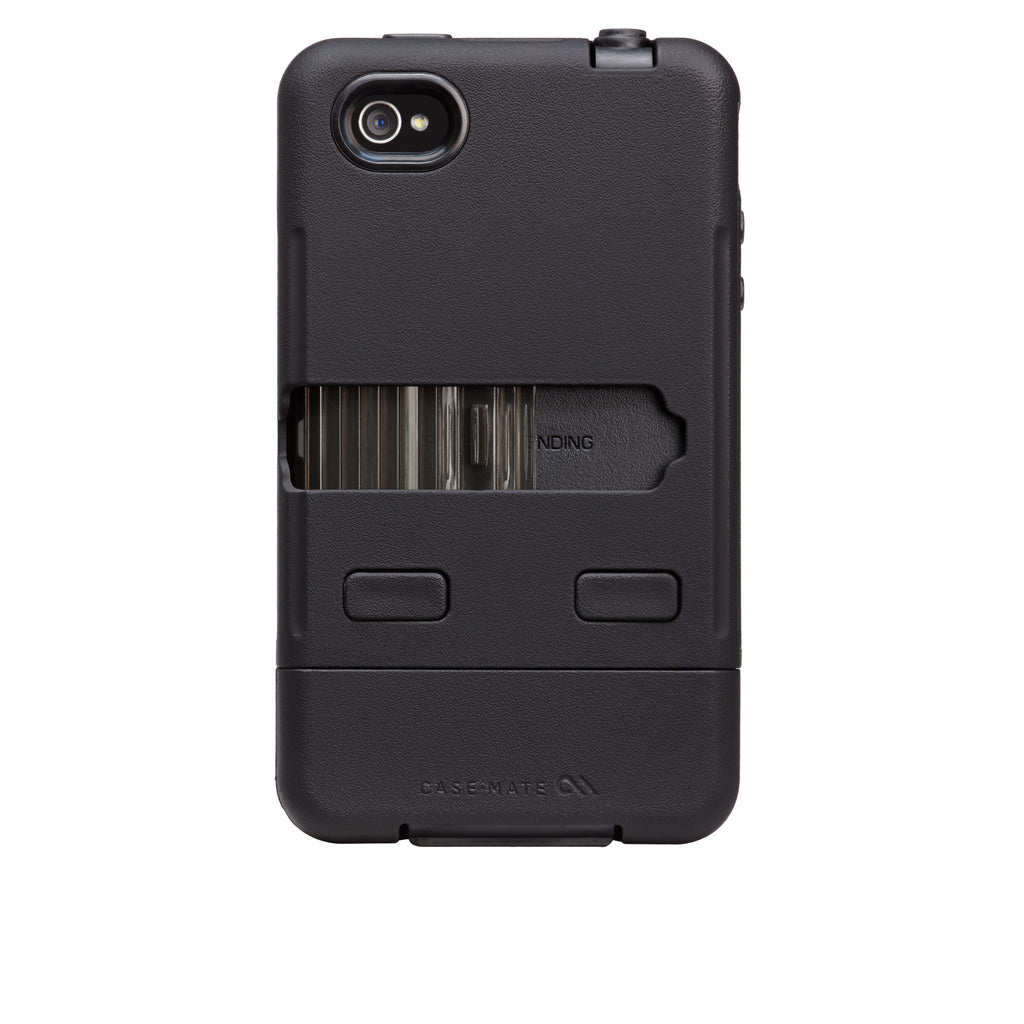 iPhone 4/4s Black Tank Case - image angle 7