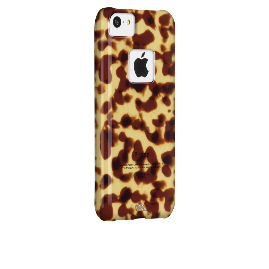 iPhone 5c Brown Tortoiseshell Case - image angle 1