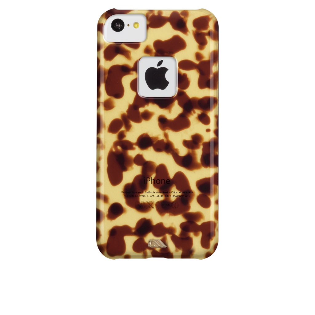 iPhone 5c Brown Tortoiseshell Case - image angle 7