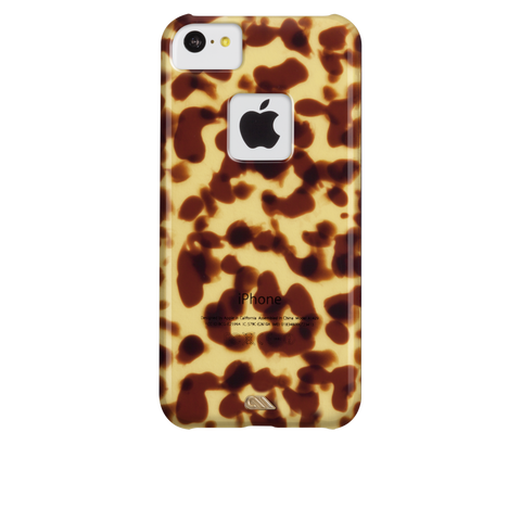 iPhone 5c Tortoiseshell Case - Brown