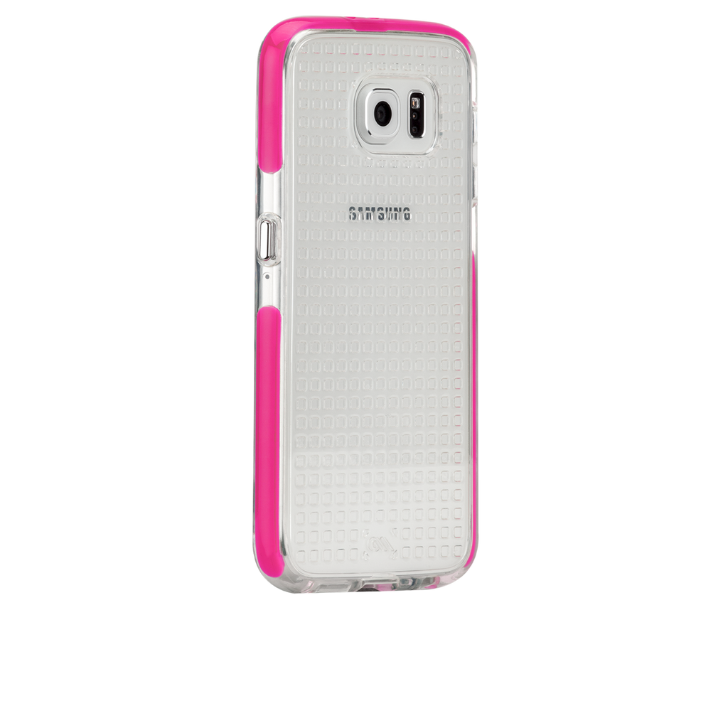 Samsung Galaxy S6 Pink Tough Air Case - image angle 1
