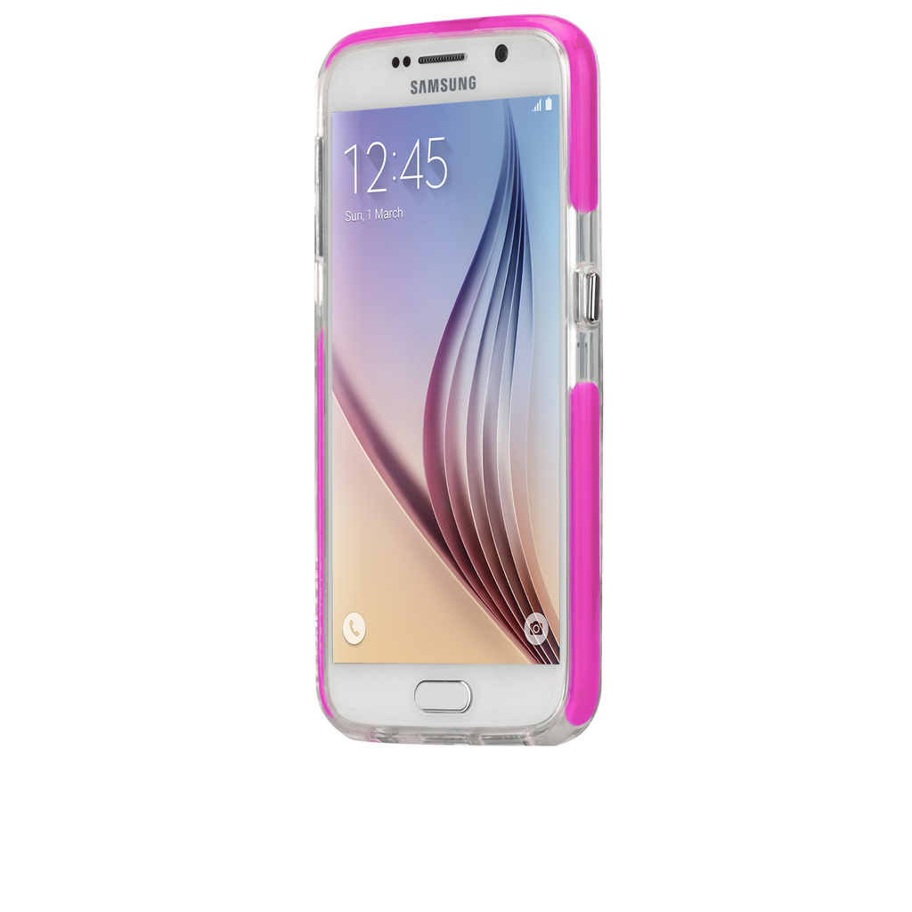 Samsung Galaxy S6 Pink Tough Air Case - image angle 4