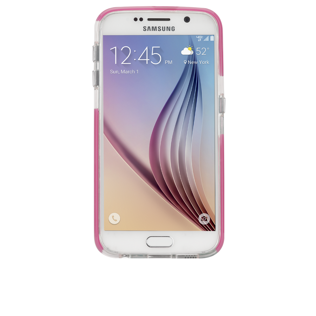 Samsung Galaxy S6 Pink Tough Air Case - image angle 6