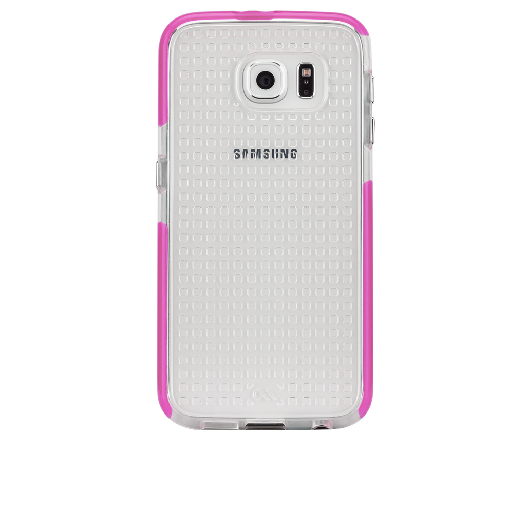 Samsung Galaxy S6 Pink Tough Air Case - image angle 7