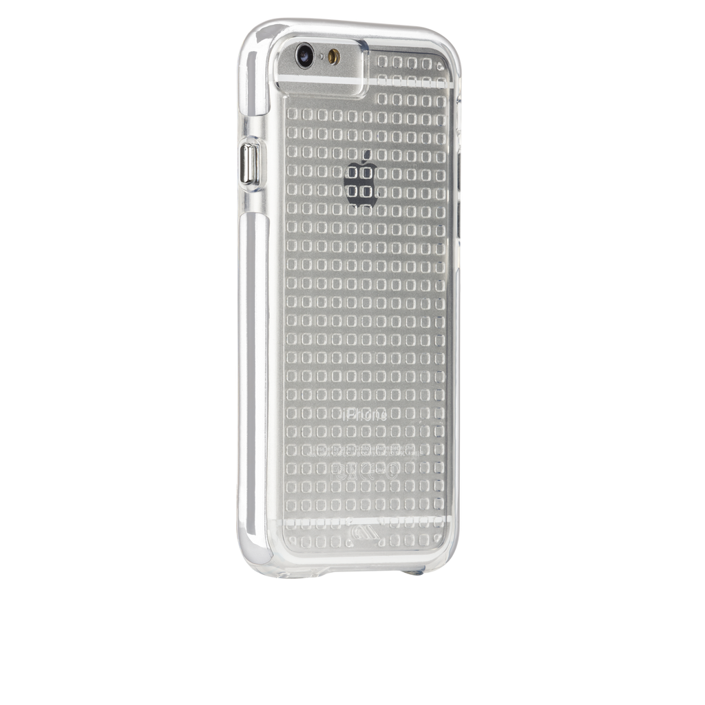 iPhone 6 Plus Clear & White Tough Air Case - image angle 1