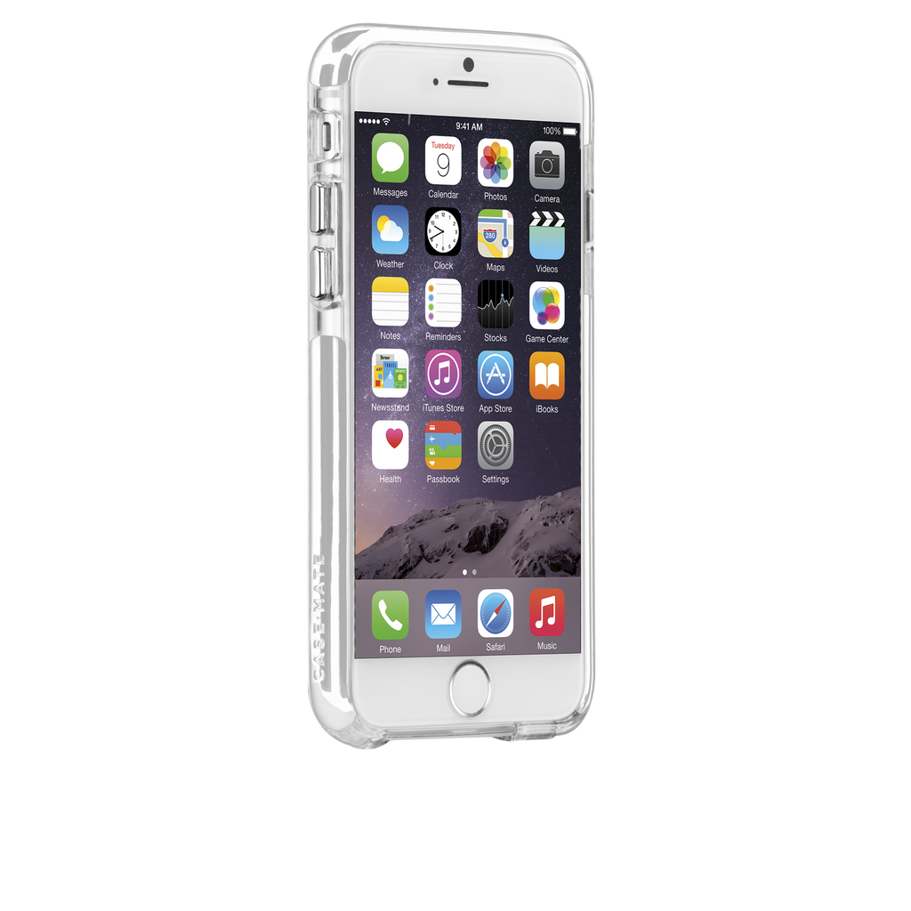 iPhone 6 Plus Clear & White Tough Air Case - image angle 2