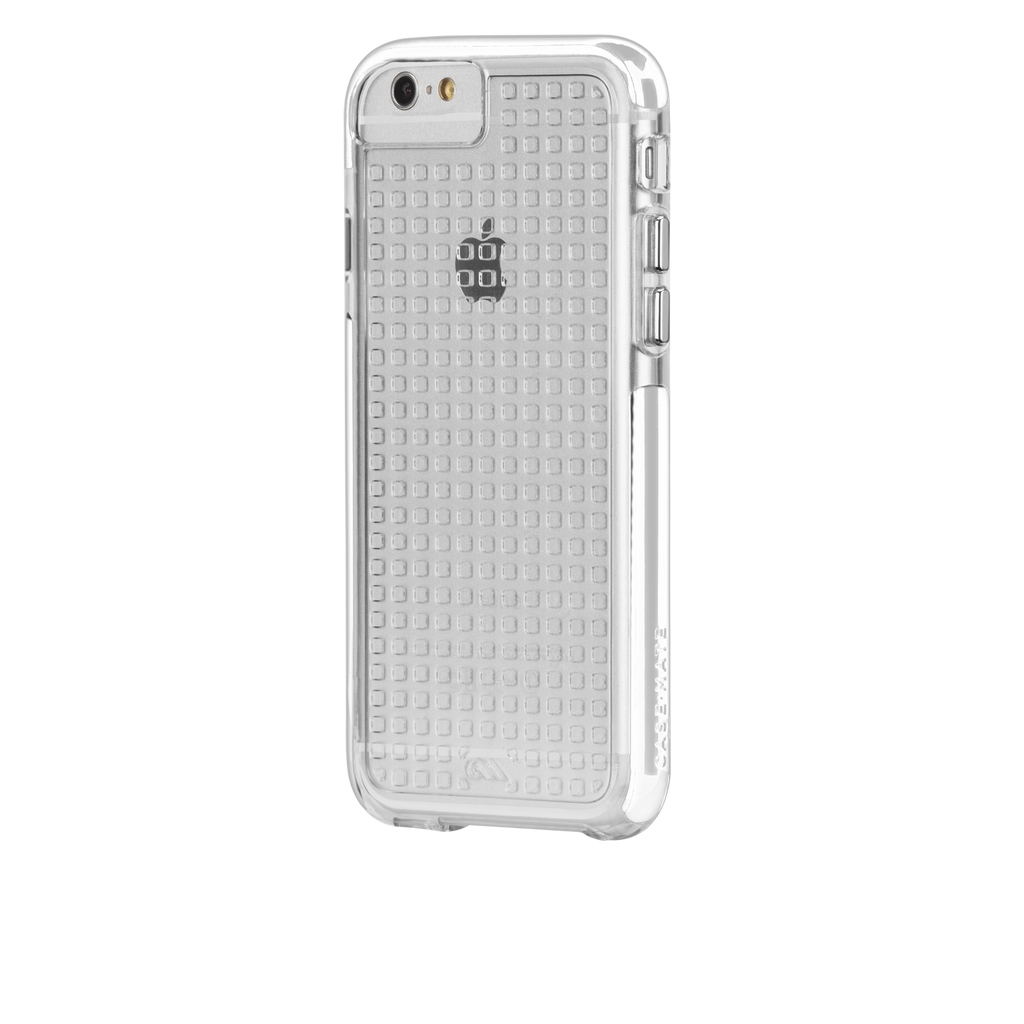 iPhone 6 Plus Clear & White Tough Air Case - image angle 3